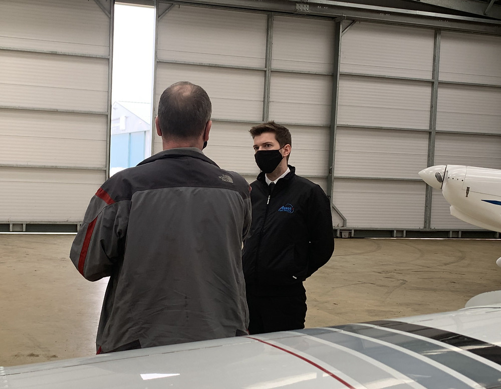 PPL, Flight operations, Pilot training, Aeros Flight Training