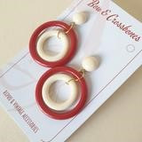 dot double hoops red & ivory.jpg
