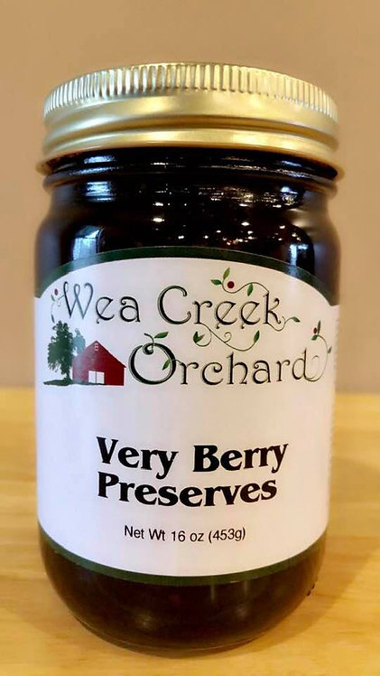 Very berry preserves
