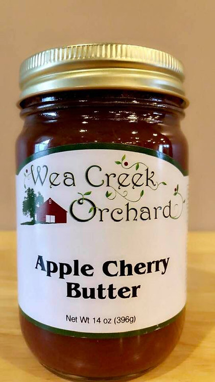 Apple cherry butter
