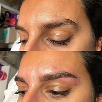 Natural brow shape ✨😍_._._._._._#brows