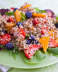 Honey Lime Quinoa Salad Recipe