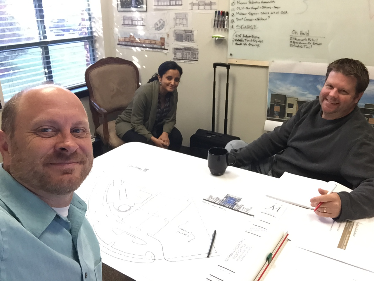Meeting with Architects