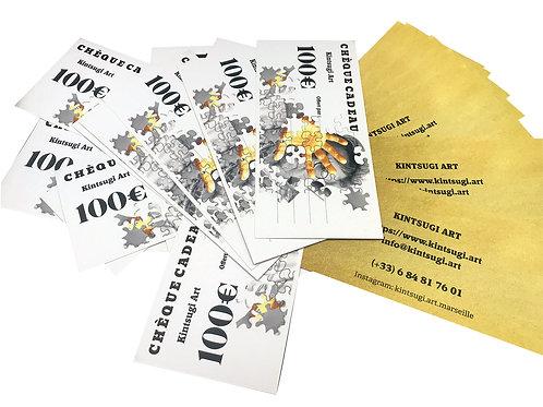 Cheque cadeaux 100€
