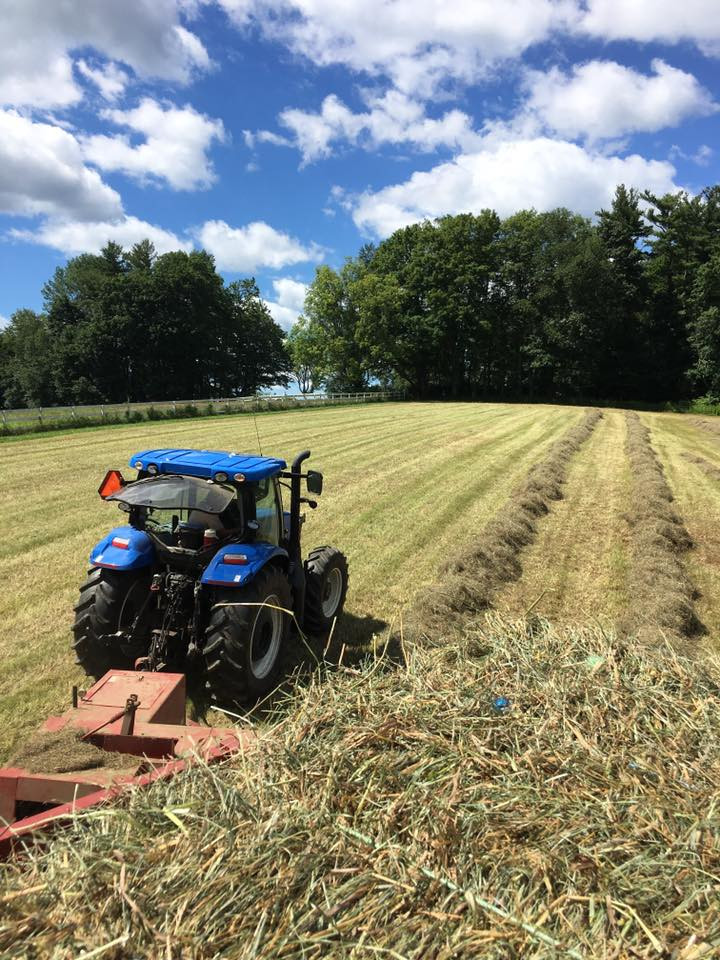 Baling Hay on a Gorgeous July Day