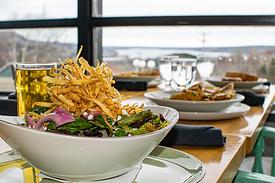 Parsnip Chip Salad