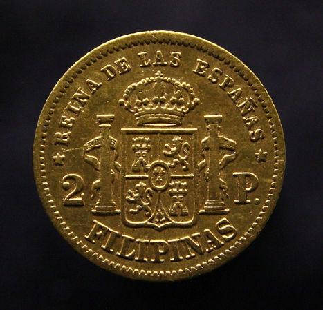 Isabel II 2 pesos Filipinas reverso.jpg