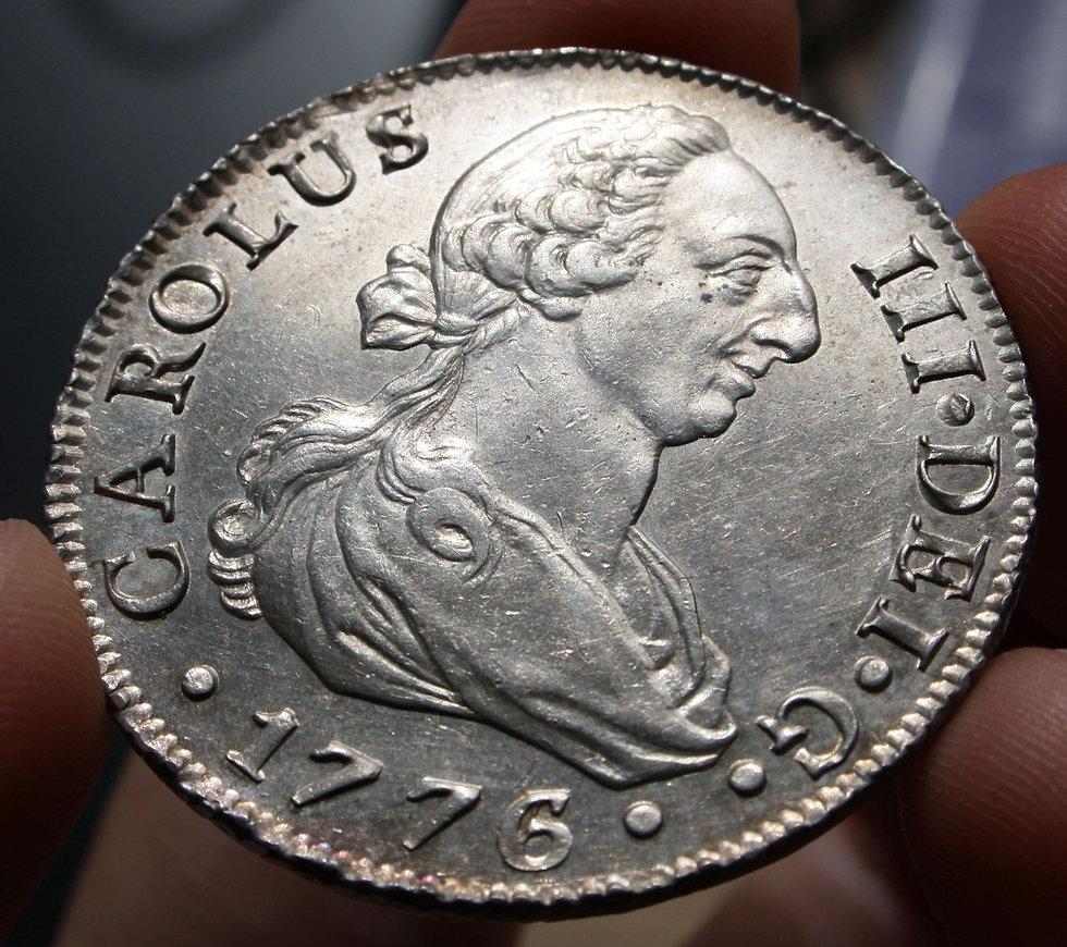 8 reales 1776 Sevilla