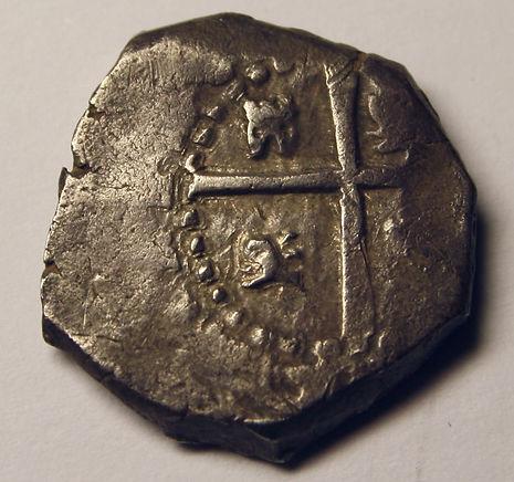 2 reales Felipe V Sevilla 1704
