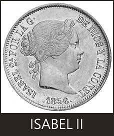Duros de Isabel II
