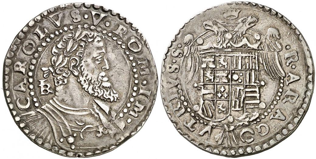 Italia Nápoles Carlo V Plata 1/2 Ducato 1516-56 C9fa52_8987f52ad80f41c38ad16d0432bcf2c0