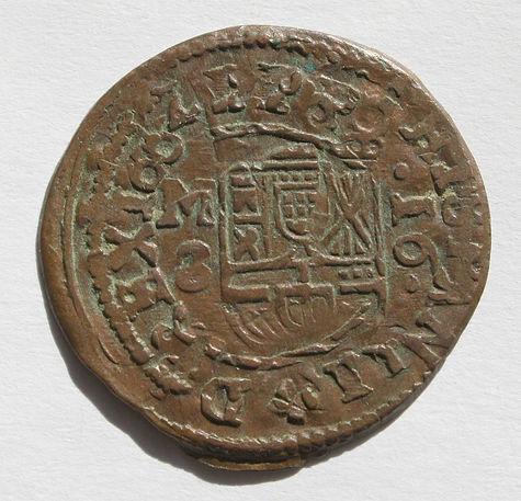 Felipe IV 16 maravedis Madrid