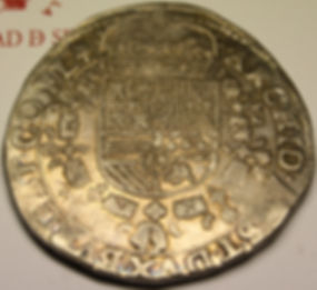 Patagón Felipe IV 1623 Brujas Flandes