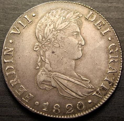 8 reales de Fernando VII 1820. N. Guatemala C9fa52_e2740c00b44f43cbb4cc6def373860c5
