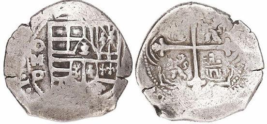 8 reales México Diego Godoy Felipe IV