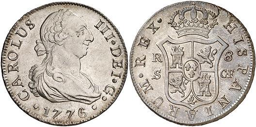 8 reales Sevilla 1776