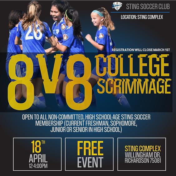 8v8 College Scrimmages