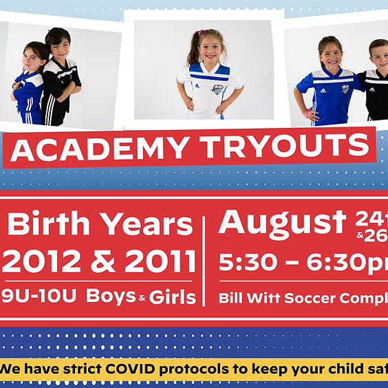 Sting Corpus Academy Tryouts