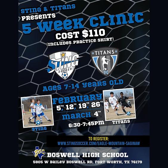 5 Week Soccer Clinic