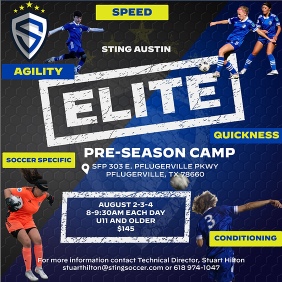 Sting Austin Elite Pre-Season Camp