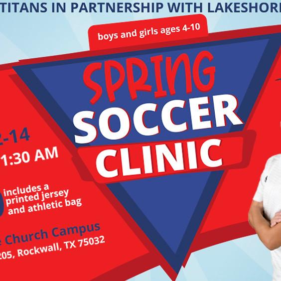 Spring Soccer Clinic - Lakeshore Athletics