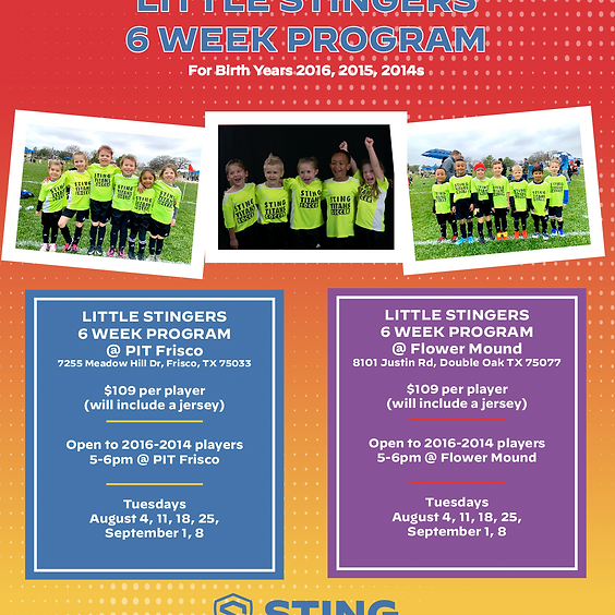 Little Stingers 6 Week Program