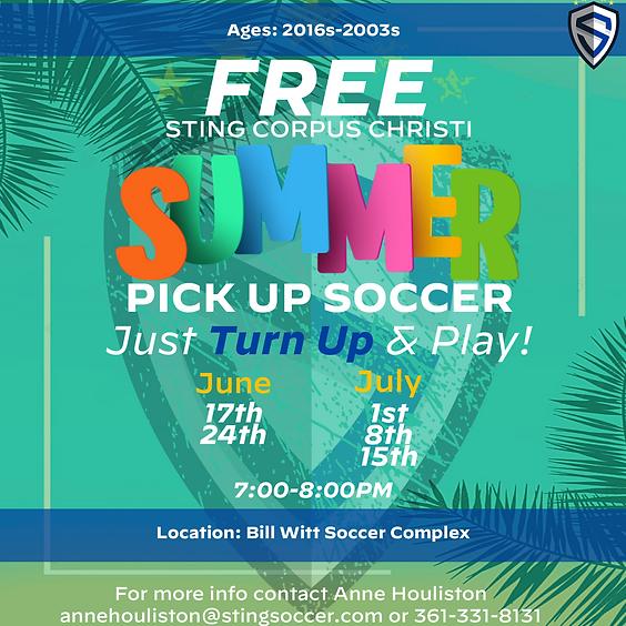 CC - Summer Pick Up Soccer