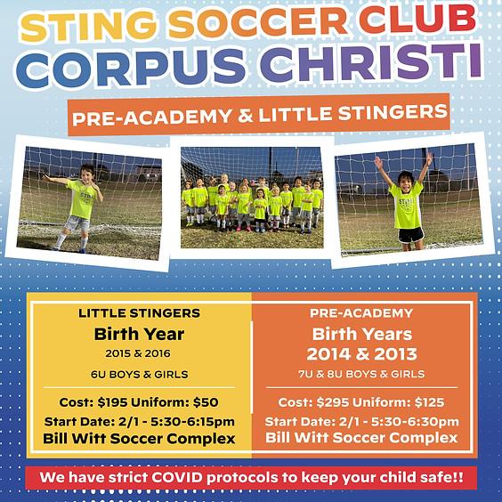 Sting Corpus Christi - Little Stingers