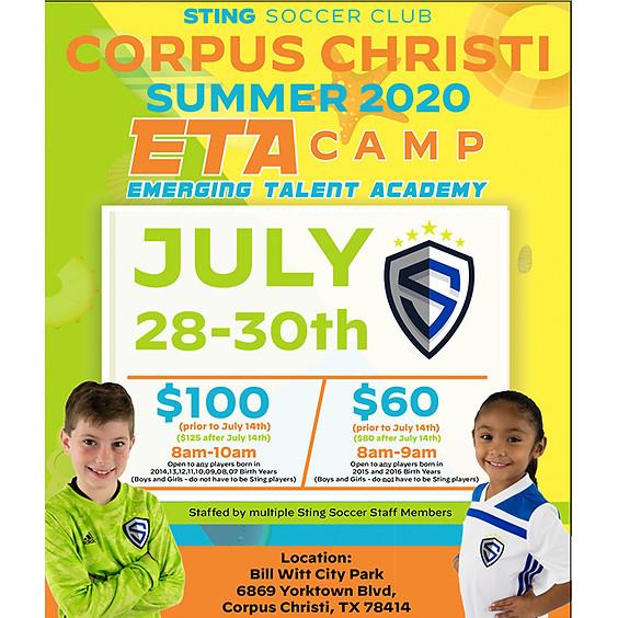 Corpus Christi Summer 2020 ETA Camp