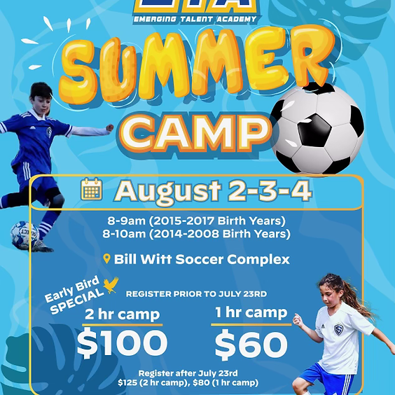Sting Corpus Christi ETA Summer Camp 2021