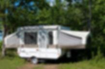Olympia Village RV Park trailers