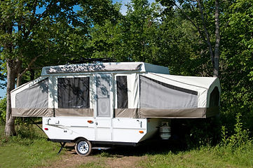 Olympia Village RV Park trailers