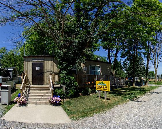 Olympia Village RV Park snackbar