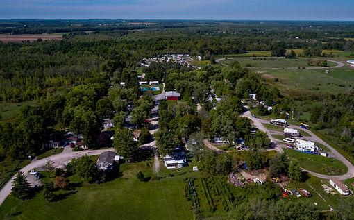 Olympia Village RV Park skyview
