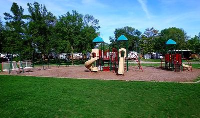 Olympia Village RV Park playground