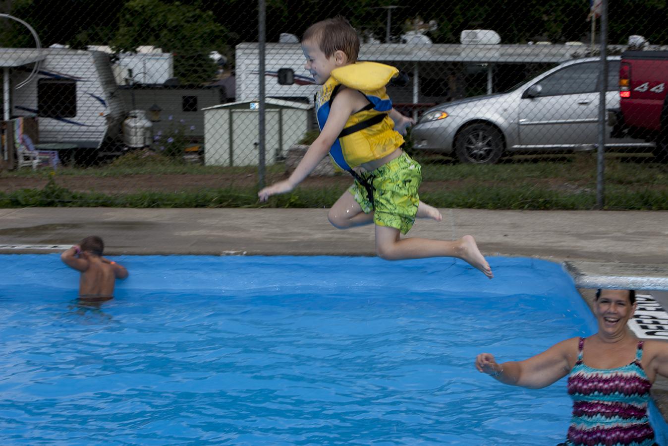 Olympia Village swim
