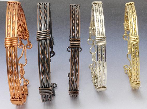 Twisted  7 Strand Bracelet