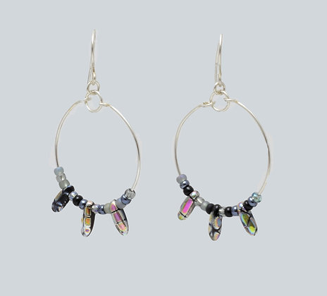 Art glass Hoops