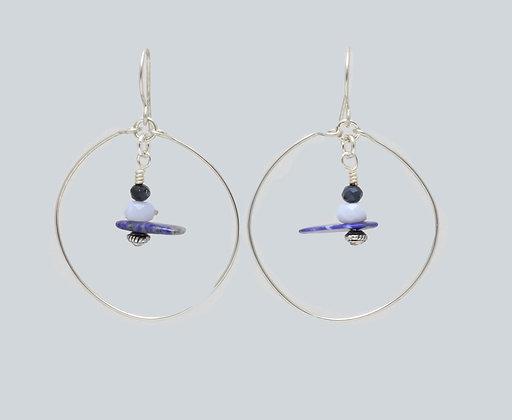 Float your boat earrings