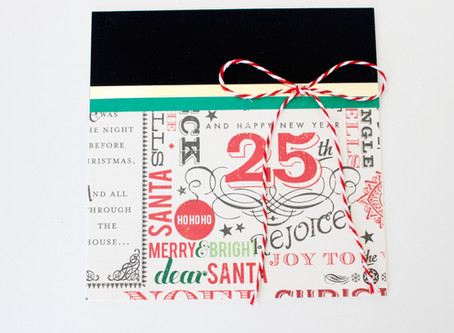 DIY Holiday Card