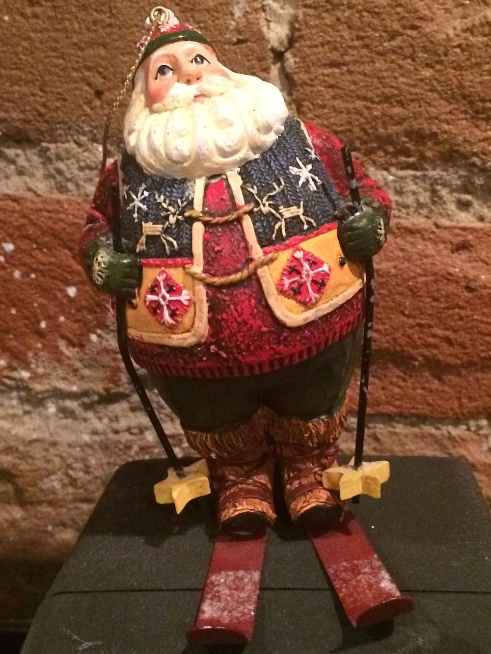 My Santa Ornaments are my Fav