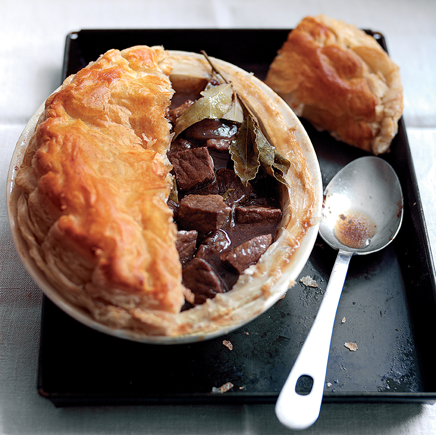 Beef, Beer and Chestnut Pie