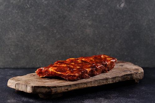 Pork Back Ribs BBQ Marinated