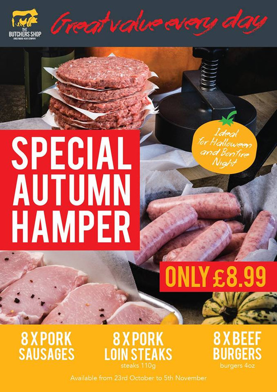 Autumn hamper just £8.99