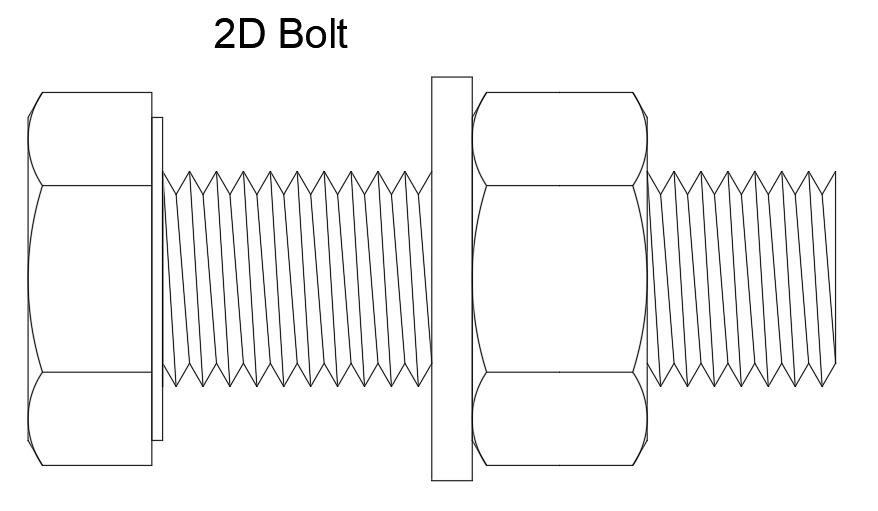 2D Bolt