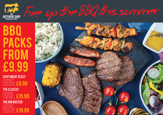 BBQ packs back in store!