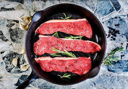 Sirloin steaks in pan.png