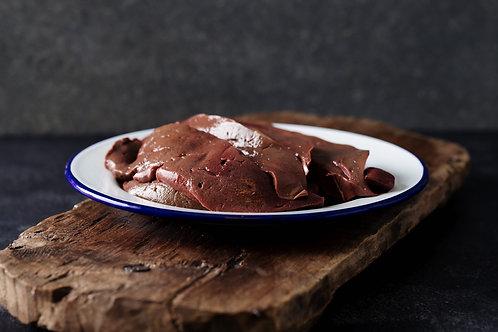 Lamb's liver, sliced 500g