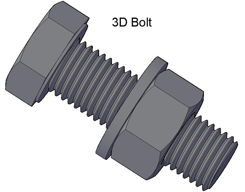 3D Bolt