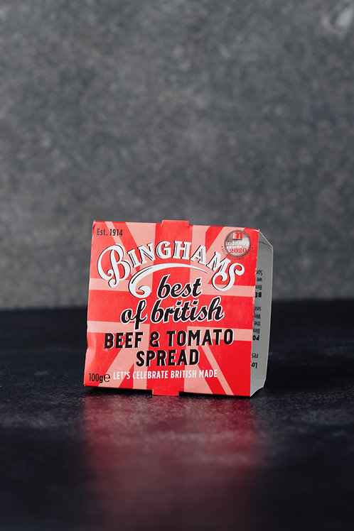 Bingham's Potted Beef & Tomato Spread